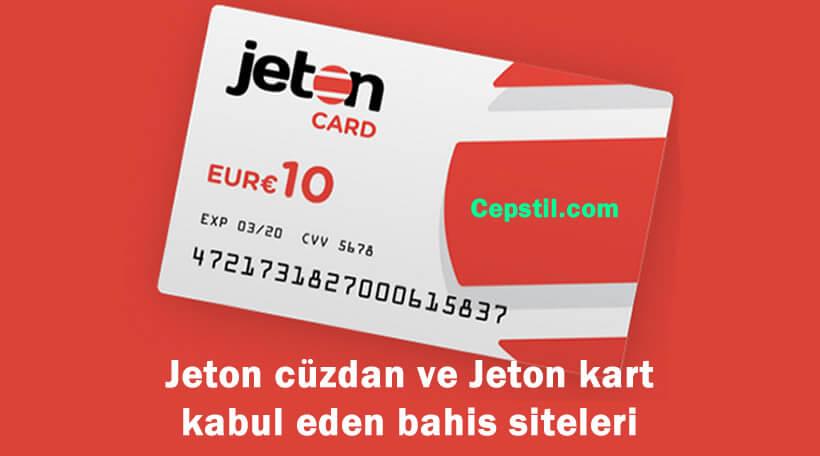 Jeton cüzdan ve Jeton kart kabul eden bahis siteleri