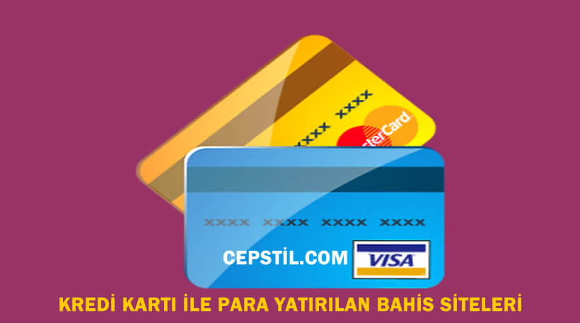 Kredi kartı ile en az para yatırılan bahis siteleri