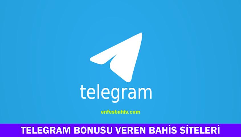 Telegram bonusu veren siteler